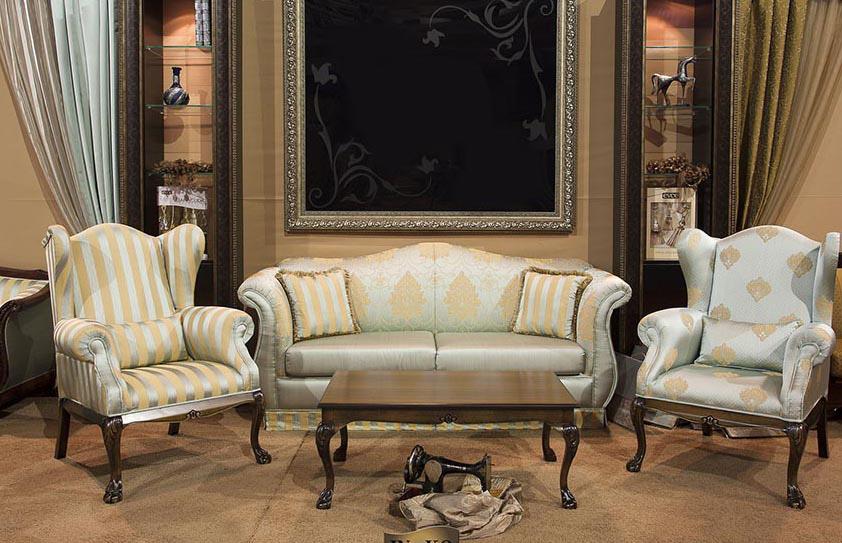 Stilski nameštaj - trosedi, dvosedi, fotelje, trpezarijski stolovi i stolice